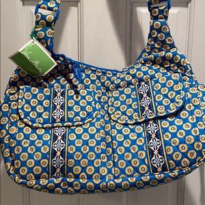 Cargo Sling Riviera Blue Vera Bradley Bag
